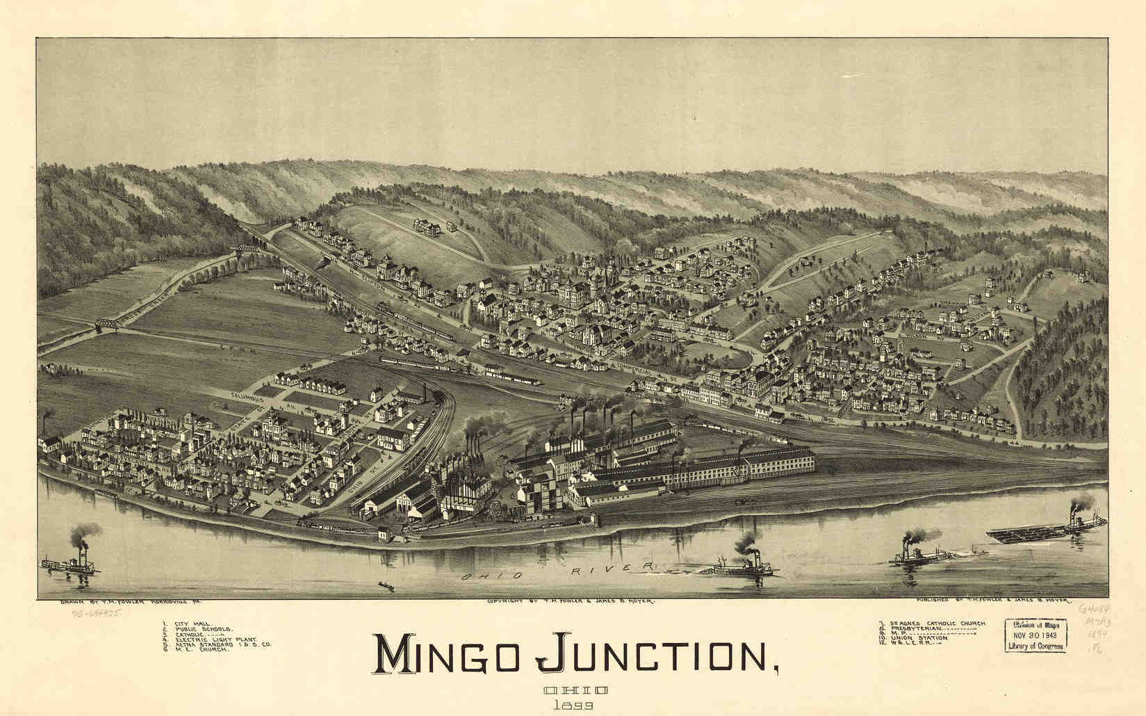 mingo junction Mingo junction - almost eight years after russian firm oao severstal shuttered the former wheeling-pittsburgh steel corp mill in mingo junction, new hot metal.